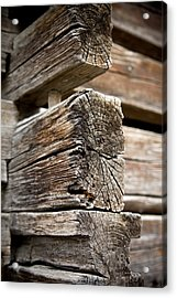 Old Wood Acrylic Print by Frank Tschakert