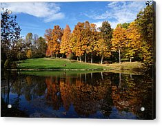 Oliver Winery 2014 Acrylic Print by Chuck Johnson