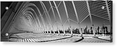 Olympic Sports Complex - Athens Acrylic Print by Rod McLean