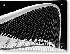 Olympic Velodrome - Athens Acrylic Print by Rod McLean