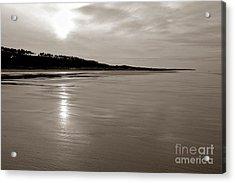 Omaha Beach Acrylic Print by Olivier Le Queinec