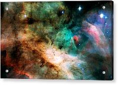 Omega Swan Nebula 2 Acrylic Print by Jennifer Rondinelli Reilly - Fine Art Photography