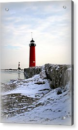 On A Cold Winter's Morning Acrylic Print by Kay Novy