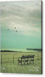 On The Boardwalk Acrylic Print by Margie Hurwich