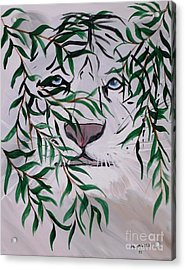 On The Prowl Acrylic Print by Mark Moore