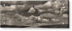 On The Road Again Acrylic Print by Dan Sproul