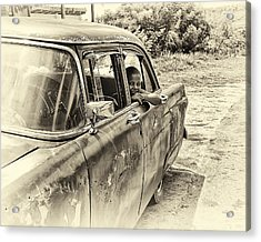 On The Road Acrylic Print by Phil Callan Photography