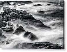 On The Rocks Acrylic Print by Scott Thorp