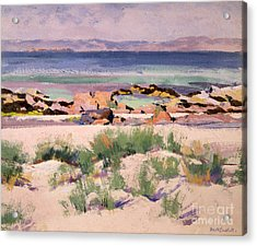 On The Shore  Iona  Acrylic Print by Francis Campbell Boileau Cadell