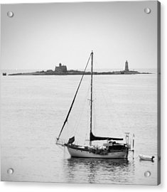 On The Water Acrylic Print by Mike McGlothlen