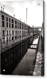 Once Industrial Georgetown Acrylic Print by Olivier Le Queinec