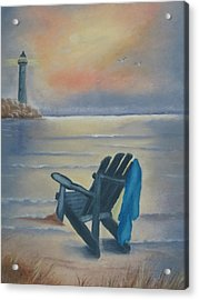 One Is A Lonely Number Acrylic Print by Kay Novy
