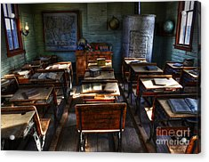 One Room School House Acrylic Print by Bob Christopher