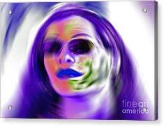 Oneself Acrylic Print by Gwyn Newcombe