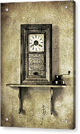 Only Time Will Tell Acrylic Print by Jeff Burton