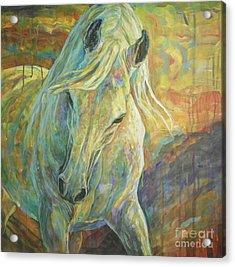 Opal Dream Acrylic Print by Silvana Gabudean