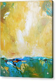 Openness Acrylic Print by Becky Kim