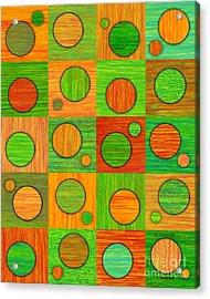 Orange Soup Acrylic Print by David K Small