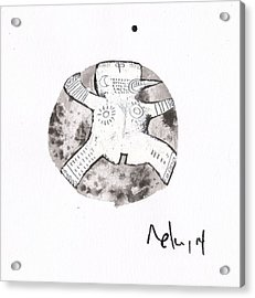 Orbis No. 15 Acrylic Print by Mark M  Mellon