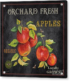 Orchard Fresh Apples-jp2638 Acrylic Print by Jean Plout