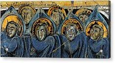 Order Of Cherubim Angels - Study No. 2 Acrylic Print by Steve Bogdanoff