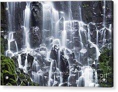 Oregon Ramona Falls Acrylic Print by King Wu