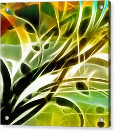 Organic Spring Acrylic Print by Ann Croon