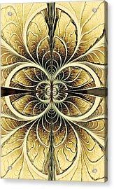 Organic Texture Acrylic Print by Anastasiya Malakhova