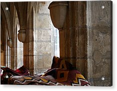 Oriental Rugs In Paris Acrylic Print by A Morddel