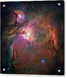 Orion Nebula - Hubble 2006 Mosiac Acrylic Print by Space Art Pictures