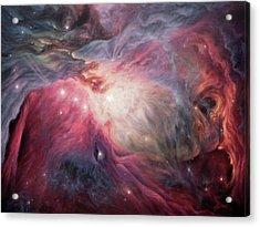 Orion Nebula M42 Acrylic Print by Lucy West