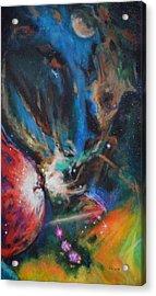 Orion Nebula Acrylic Print by Toni Wolf