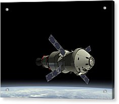 Orion Service Module Acrylic Print by Movie Poster Prints