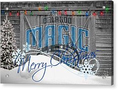 Orlando Magic Acrylic Print by Joe Hamilton