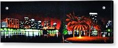 Orlando Acrylic Print by Thomas Kolendra