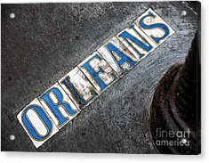 Orleans Acrylic Print by John Rizzuto
