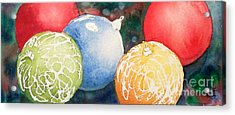 Ornaments Acrylic Print by Yoshiko Mishina