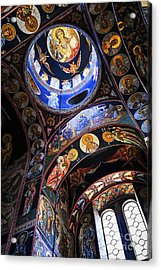Orthodox Church Interior Acrylic Print by Elena Elisseeva