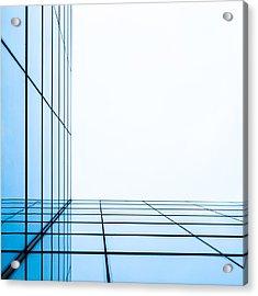 Orthogonal Acrylic Print by Adam Pender