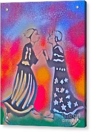 Oshun And Yemaya Acrylic Print by Tony B Conscious