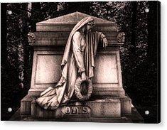 Otis Monument Acrylic Print by Tom Mc Nemar