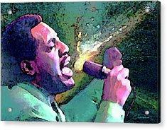 Otis Redding Acrylic Print by John Travisano