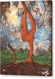 Our Dance With Nature Acrylic Print by Stefan Duncan