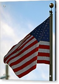Our Flag Was Still There Acrylic Print by Shoal Hollingsworth