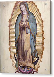 Our Lady Of Guadalupe Acrylic Print by Richard Barone