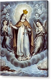 Our Lady Of Mercy Circa 1856  Acrylic Print by Aged Pixel