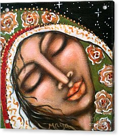 Our Lady Of Peace Acrylic Print by Maya Telford