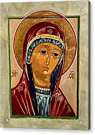 Our Lady Of Springfield Acrylic Print by Marcelle Bartolo-Abela