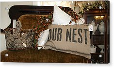 Our Nest Acrylic Print by Rebecca Smith
