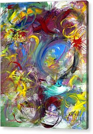 Our Song Acrylic Print by Jason Stephen